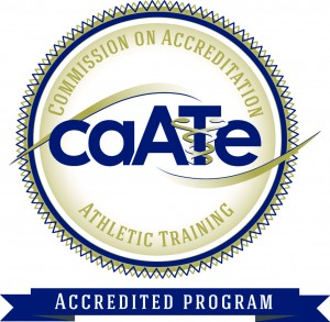 Commission on Accreditation of Athletic Training Education (CAATE) seal