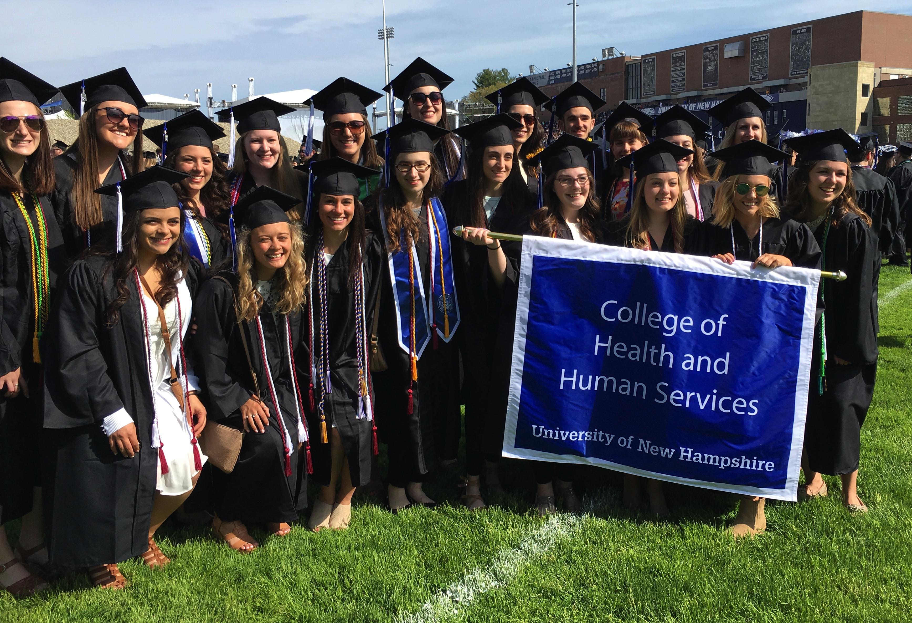 OT grads at graduation 2018