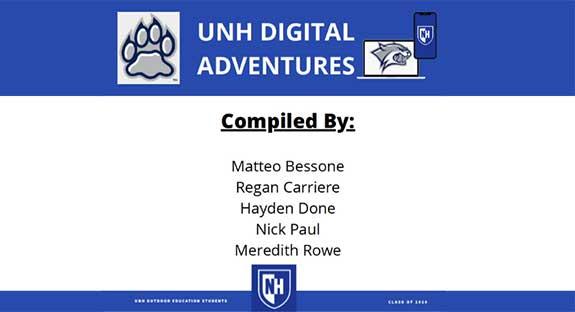 Digital Adventures text