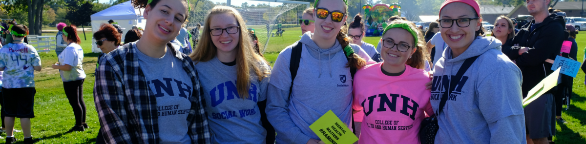 SW students at NH NAMI Walk