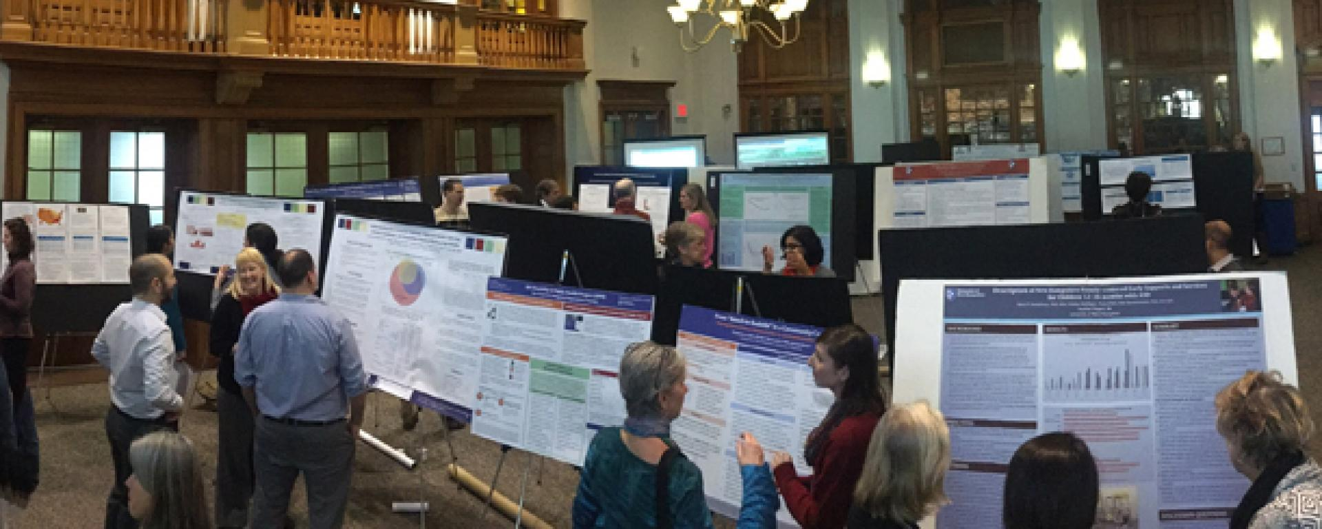 chhs research celebration poster review