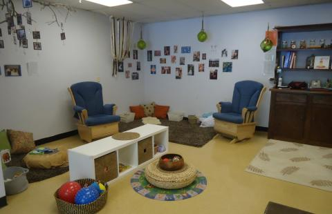 play are in infant classroom