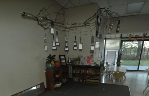 Preschool 1 entrance area