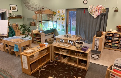Preschool 2 classroom