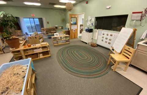Preschool 2 entrance area