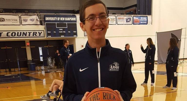 Sport Studies student Andrew Marden