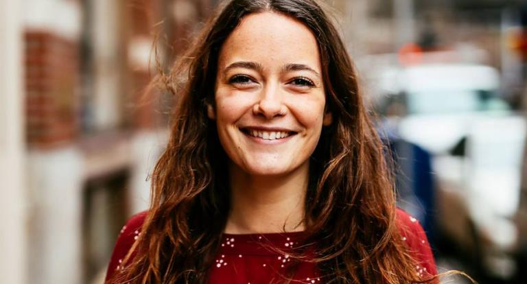 Social work student Emma Chinman