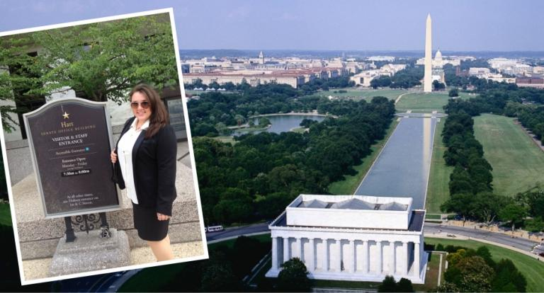 Meghan Hickey in DC