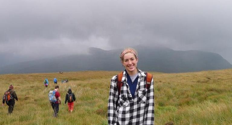 Sarah Flaherty in Ireland