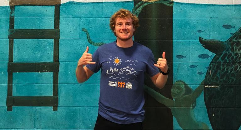Health and physical education alum Sean McGrimley