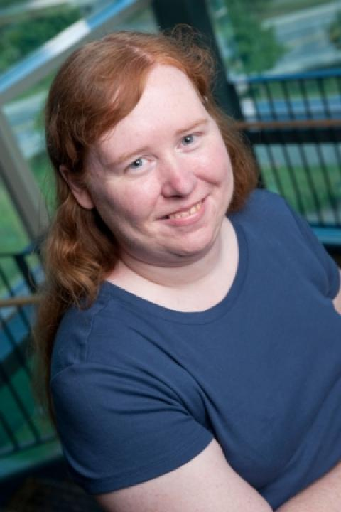 Shannon Wedge, Online Events & Website Coordinator, Institute on Disability