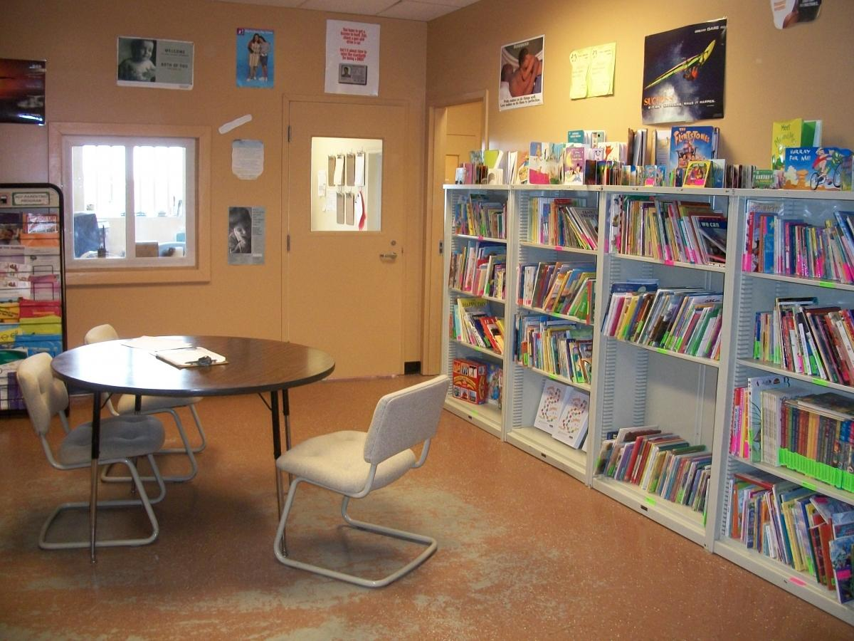 Berlin NH library and resource room