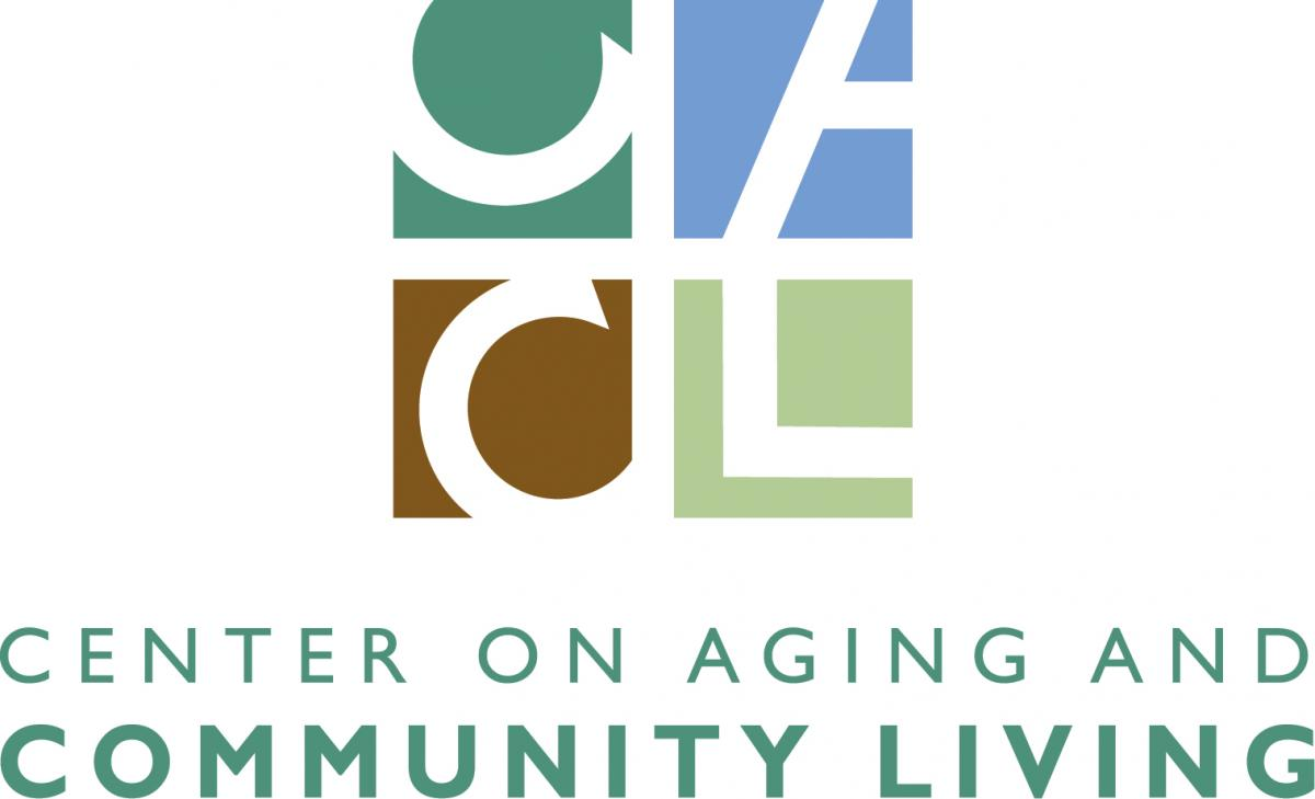 Center on Aging and Community Living logo