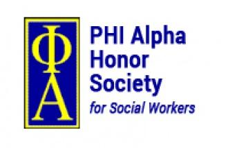 PHI Alpha Honor Society for Social Workers logo