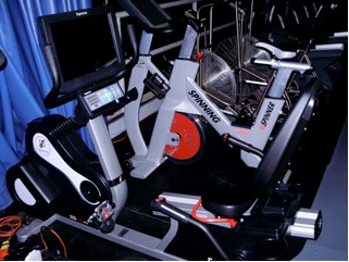 Employee fitness program equipment