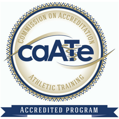 Commission on accreditation athletic training official seal logo