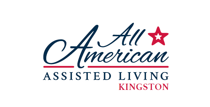 All American Assisted Living logo (major sponsor of the 2019 Age of Champions event)