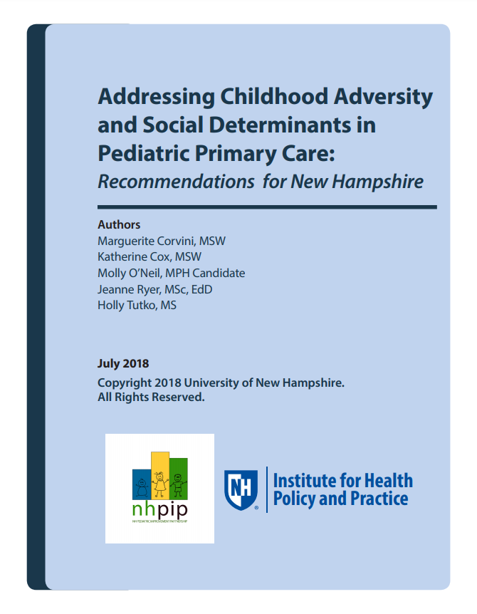 Addressing Childhood Adversity and Social Determinants in Pediatric Primary Care: Recommendations for NH