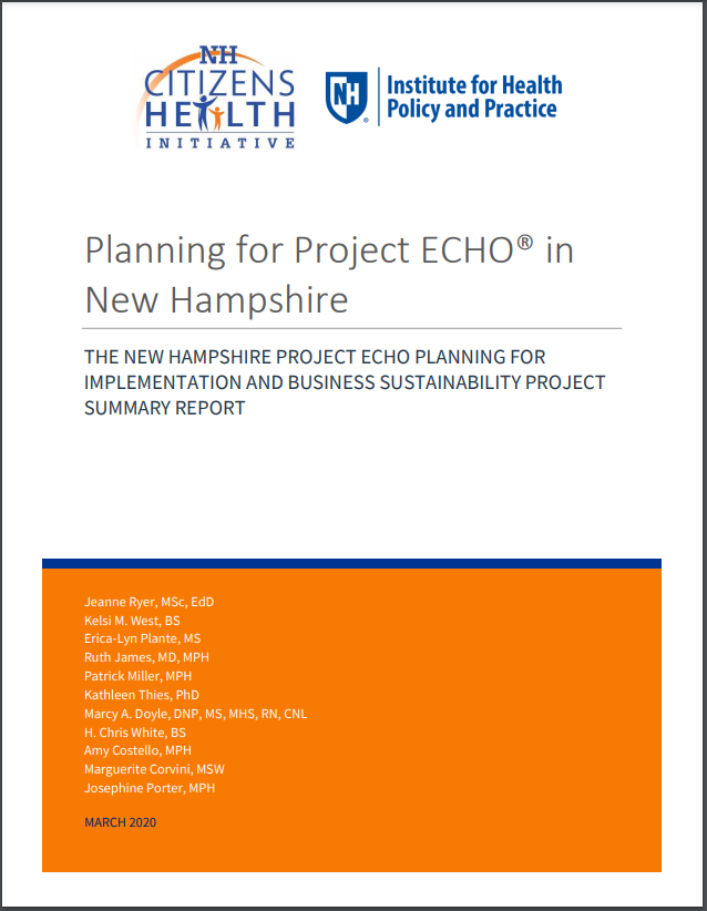 Planning for Project ECHO in NH